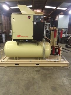 Jim Burke Ford >> Air Compressors - Projects & Past Jobs – NB Sales and Services - Bakersfield CA