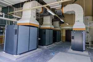 ventilation system NB Sales and Service Inc Bakersfield Air Compressor